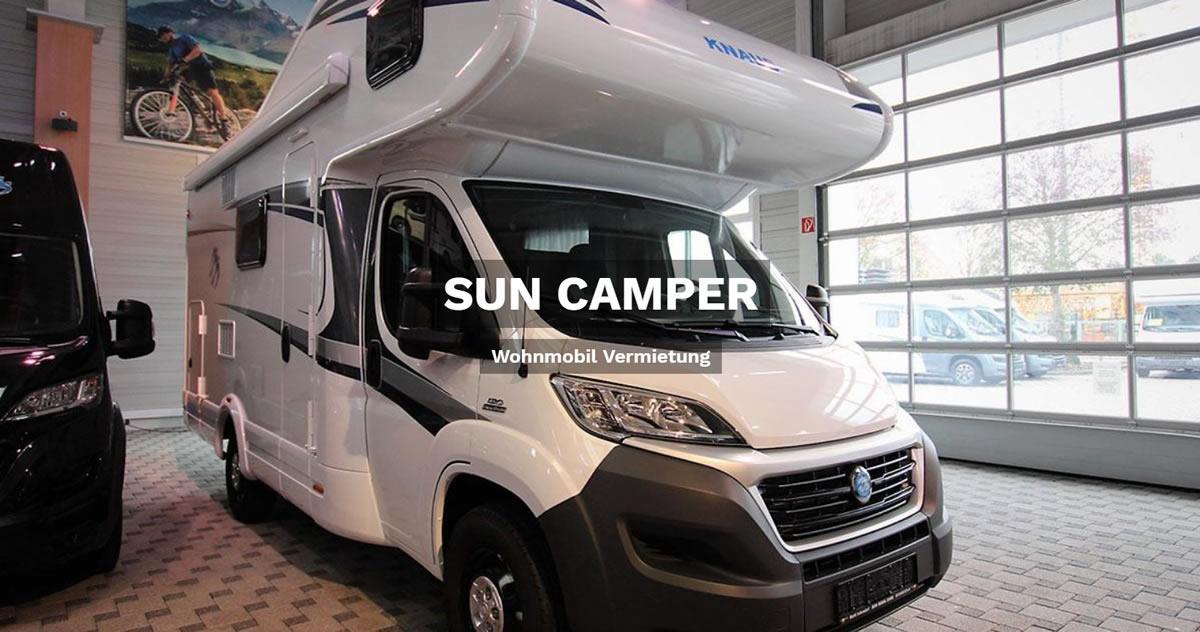 Wohnmobilvermietung in Seevetal - 🥇 SUN CAMPER: Wohnwagen mieten, Reisemobil, Caravan, Wohnanhänger