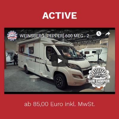 Weinsberg-Reisemobil-Vermietung
