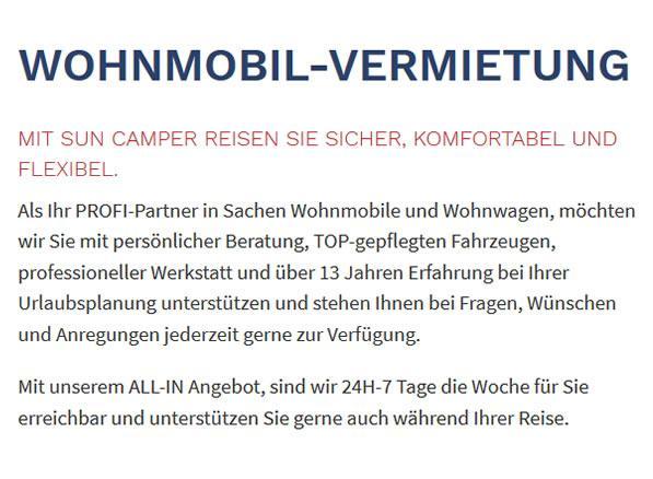 Wohnmobilvermietung in Gerlingen - Stöckach, Bopser, Gehenbühl und Krummbachtal
